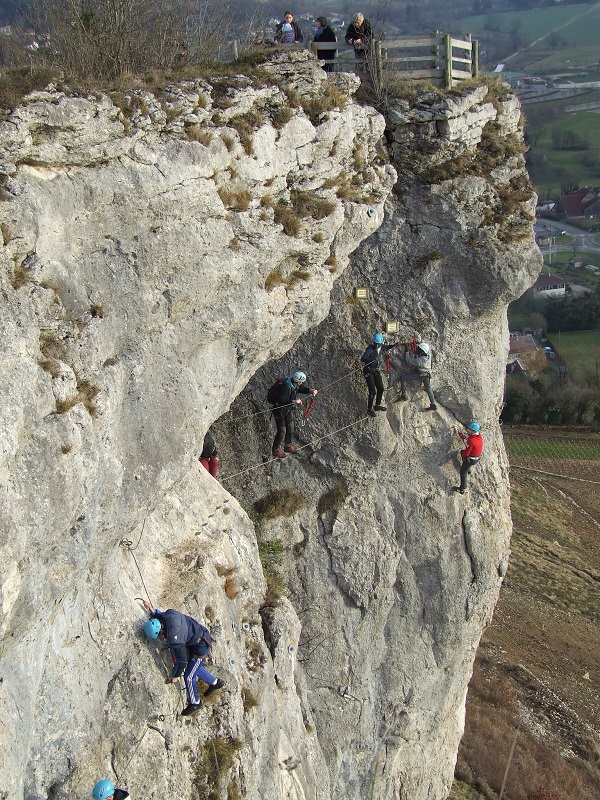 via ferrata d'ornans