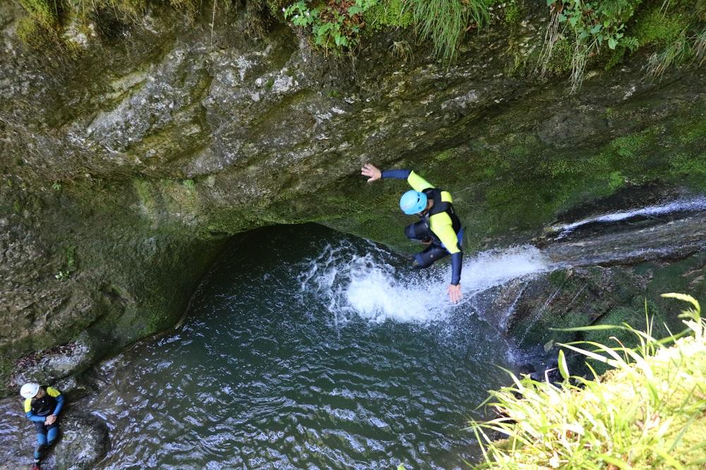 canyon des Chaudiéres avec terrains d'aventures