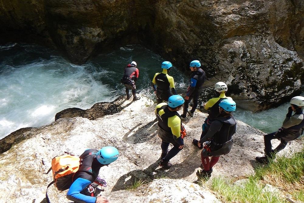 canyon de Malvaux avec terrains d'aventures