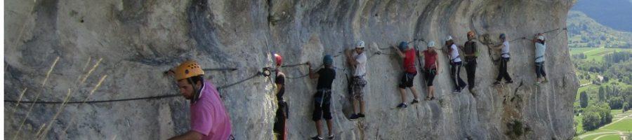 Partez à l'aventure dans les montagnes du Jura-Via Ferrata